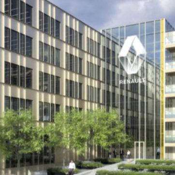 Renault Technocentre Construction d'un ensemble de bâtiments de bureaux